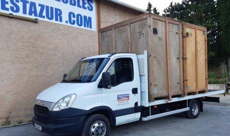 Camion de garde-meubles