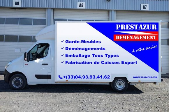 Camion dedéménagement capitonné Cannes