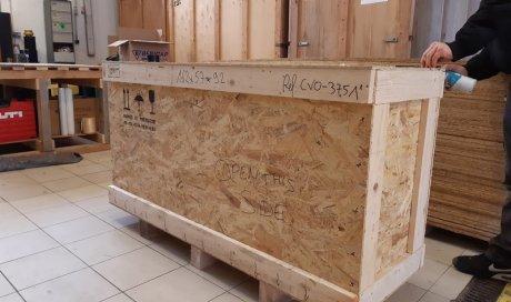 Caisses sur mesure pour déménagement objets fragiles Cannes
