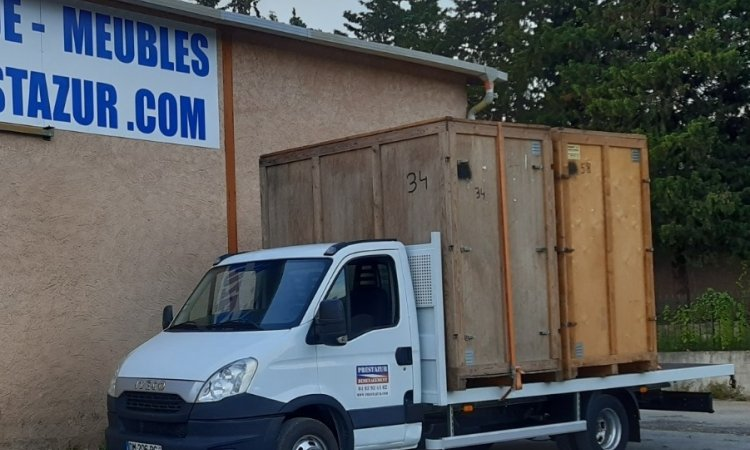 Camion garde-meubles Cannes